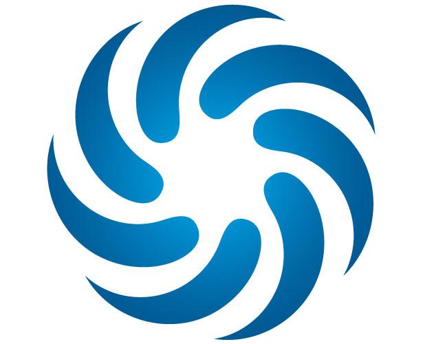Mẫu thiết kế logo hình tròn của Accelrys