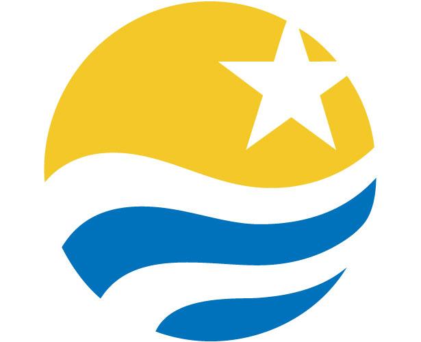 Mẫu thiết kế logo hình tròn của Vattenfall