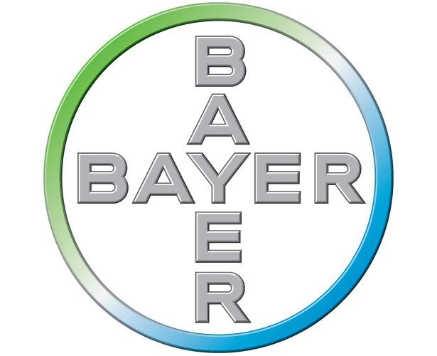 Mẫu thiết kế logo hình tròn của bayer