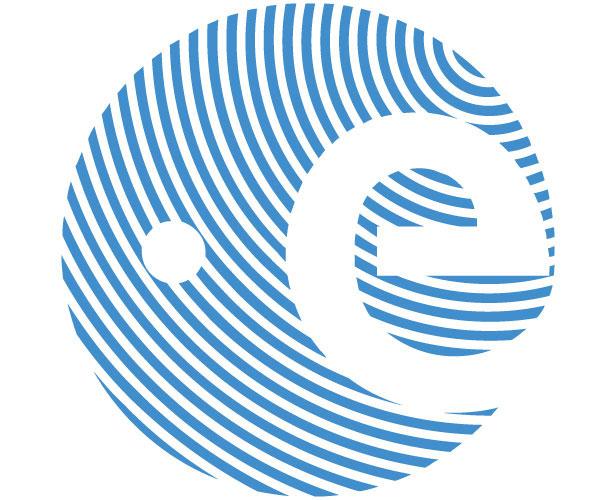 Mẫu thiết kế logo hình tròn của eac