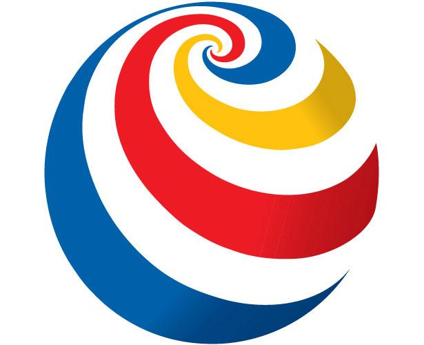 Mẫu thiết kế logo hình tròn của filmax