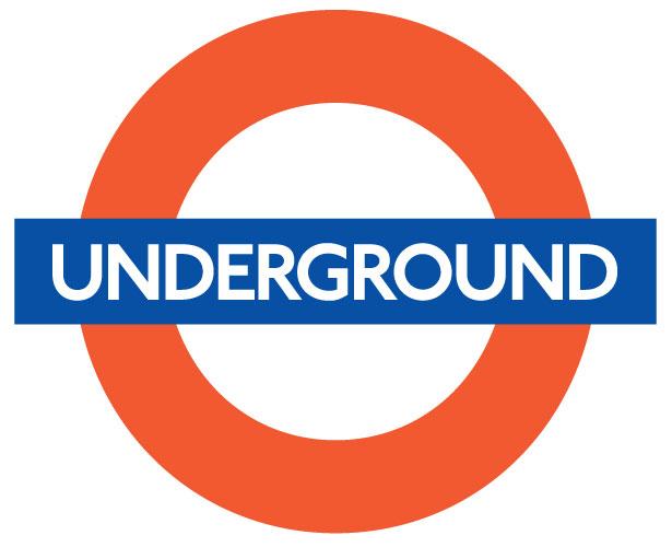 Mẫu thiết kế logo hình tròn của london-underground