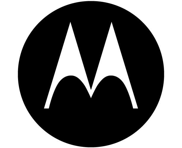 Mẫu thiết kế logo hình tròn của motorola