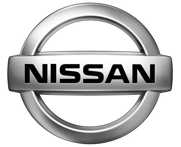 Mẫu thiết kế logo hình tròn của nissan