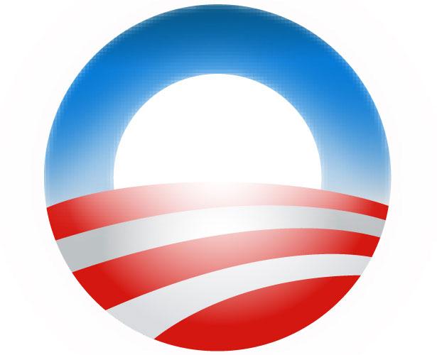 Mẫu thiết kế logo hình tròn của obama-08