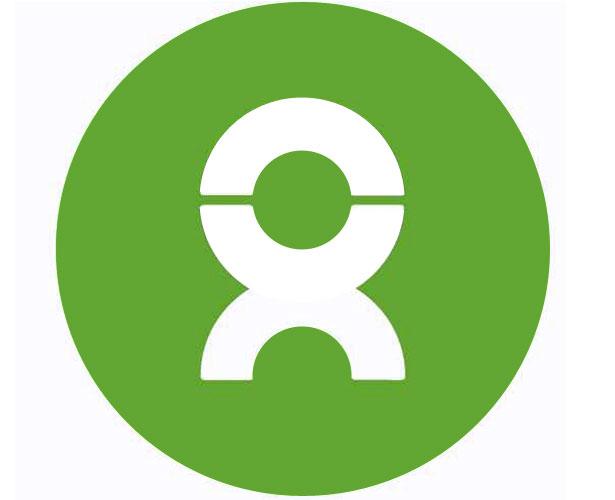 Mẫu thiết kế logo hình tròn của oxfam
