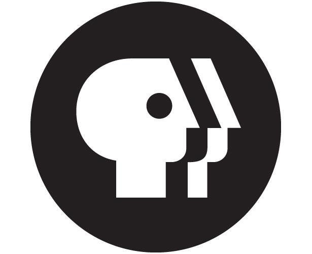Mẫu thiết kế logo hình tròn của pbs