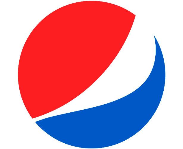 Mẫu thiết kế logo hình tròn của pepsi-new