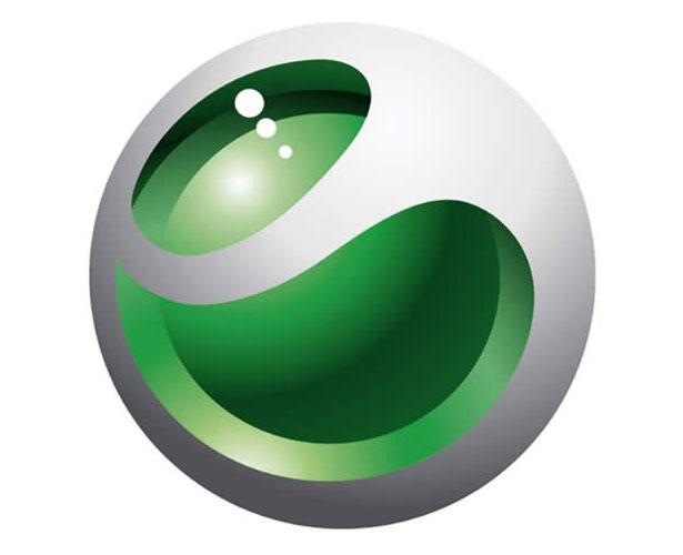 Mẫu thiết kế logo hình tròn của sony-ericson