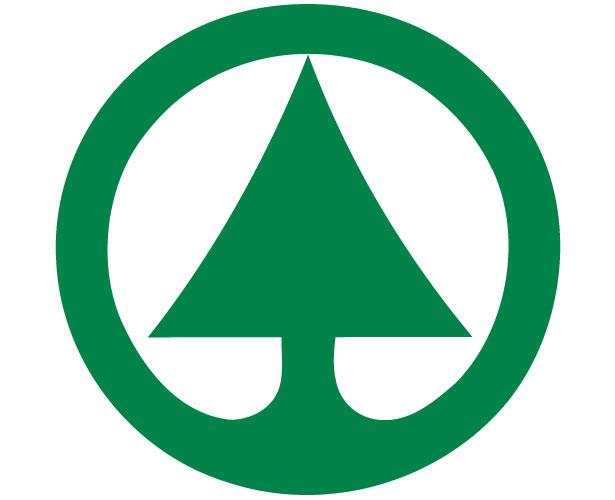 Mẫu thiết kế logo hình tròn của spar