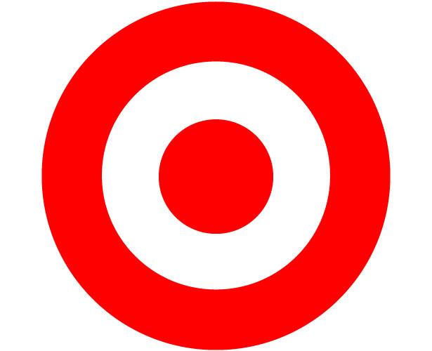 Mẫu thiết kế logo hình tròn của target