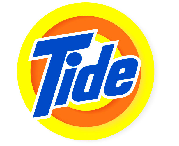 Mẫu thiết kế logo hình tròn của tide