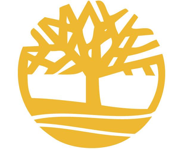 Mẫu thiết kế logo hình tròn của timberland