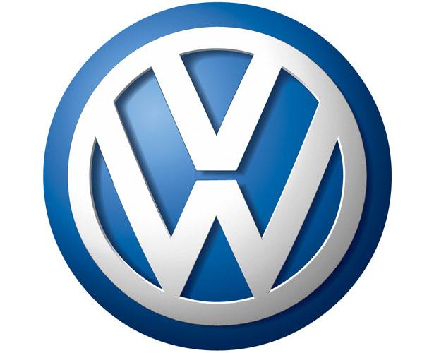 Mẫu thiết kế logo hình tròn của volkswagen