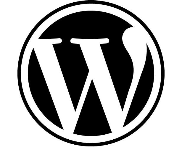 Mẫu thiết kế logo hình tròn của wordpress
