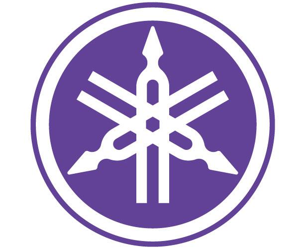 Mẫu thiết kế logo hình tròn của yamaha