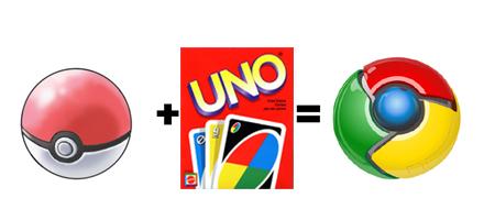 Ý tưởng hài hước về thiết kế logo Chrome
