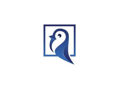 Thiết kế logo lấy cảm hứng từ hình tượng chim cánh cụt
